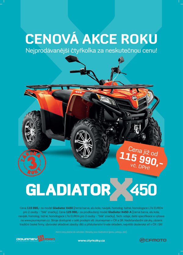 Gladiator X450